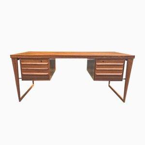 Modell 70 Palisander Schreibtisch von Kai Kristiansen für Feldballes Møbelfabrik, 1950er