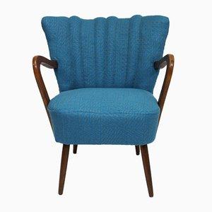Vintage Armchair in Sonia Rykiel Fabric, 1950s