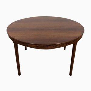 Mid-Century Palisander Tisch von Ole Wanscher für A.J. Iversen