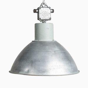 Lampada a sospensione industriale di Elektrosvit, anni '70