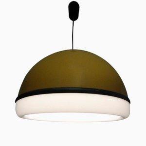 Lámpara colgante de acrílico de Molin, años 70