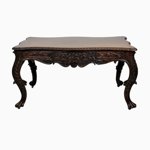 William IV Anglo-Indian Library Table, 1830s