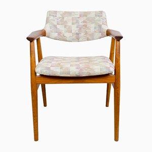 Vintage Teak GM11 Armlehnstuhl von Svend Åge Eriksen für Glostrup