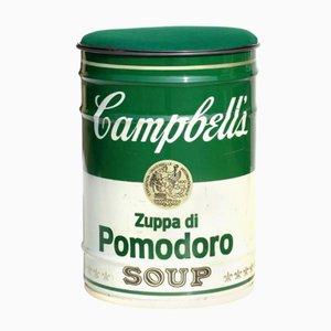 Tabouret Campbell par Dino Gavina pour Studio Simon, 1973