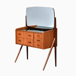 Danish Teak Dressing Table, 1960s