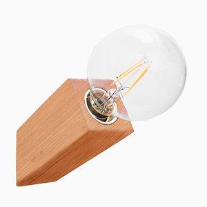 Lampada da parete Pirn in ciliegio di Andrea Pregl per Ulap Design