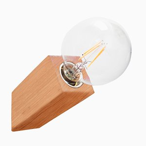 Lámpara de pared Pirn de madera de cerezo de Andrea Pregl para Ulap design