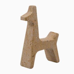Safari Giraffe Figurine von Matteo Ragni für Pietre di Monitillo