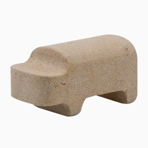 Safari Nilpferd Figurine von Matteo Ragni für Pietre di Monitillo