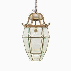 Lámpara colgante austriaca estilo Secesión modernista grande
