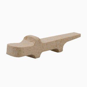Safari Krokodil Figurine von Matteo Ragni für Pietre di Monitillo