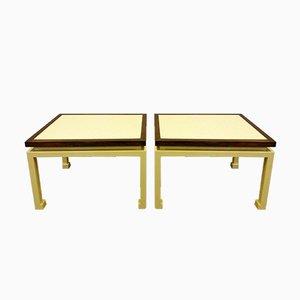 Tavolini da caffè di Maison Jansen, anni '70, set di 2