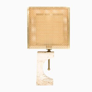 Travertine Table Lamp from Fratelli Mannelli, 1970s