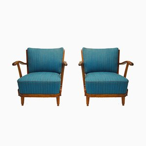 Lounge Chairs by Svante Skogh for Förenade Möbelfabrikerna Linköping, Set of 2