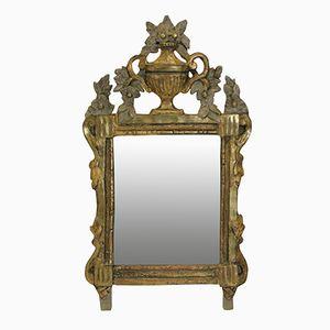 Antiker provenzieller französischer Spiegel, 1780er