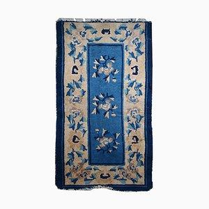Antique Hand-Made Chinese Peking Rug