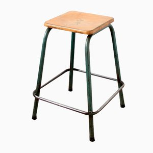 Vintage Industrial Stool from Mullca