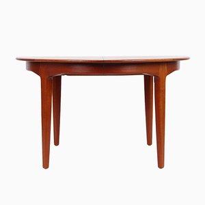 Table de Salle à Manger Modèle 62 en Teck par Henning Kjaernulf pour Sorø Stolefabrik