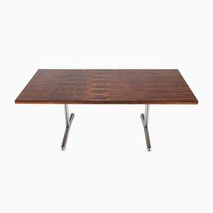 Tavolo impiallacciato in palissandro di Theo Tempelman per AP Originals, anni '60