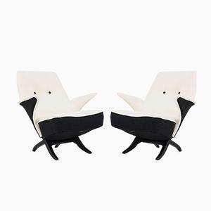 Chaises Pingouin Mid-Century par Theo Ruth pour Artifort, 1957, Set of 2