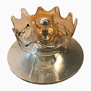 Mid-Century Italian Murano Table Lamp from Mazzega