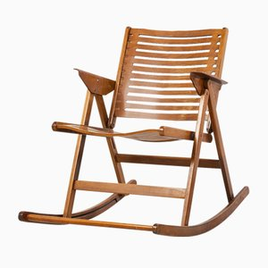 Rex Rocking Chair by Niko Kralj for Impakta Les, 1970s