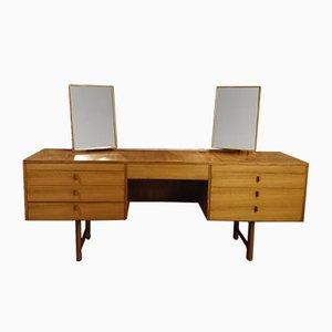 Coiffeuse Vintage Table avec 2 Miroirs Ajustables