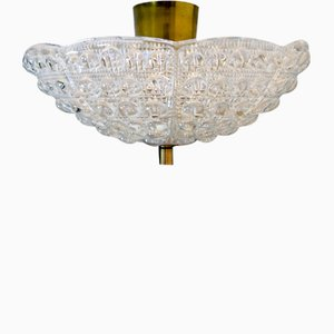 Ceiling Light by Carl Fagerhult for Orrefors, 1960s