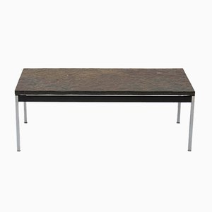Vintage Slate Coffee Table, 1960s