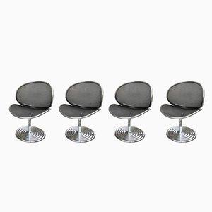 O-Line Chairs by John Herbert, 1980s, Set of 4