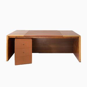 Vintage Africa Desk by Tobia Scarpa for Max Alto