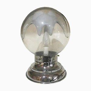 Mid-Century Murano Space Age Lampe von Toni Zuccheri