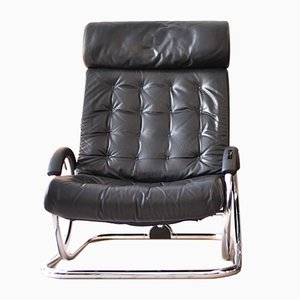 Black Synchro Chair from Hermann Miller, 1975