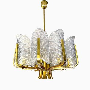 Chandelier by Carl Fagerlund for Orrefors, 1970s