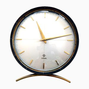 Round Table Clock from TN Telenorma, 1950s