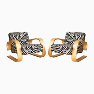 Tank Stühle von Alvar Aalto für Artek Finland, 1980er, 2er Set