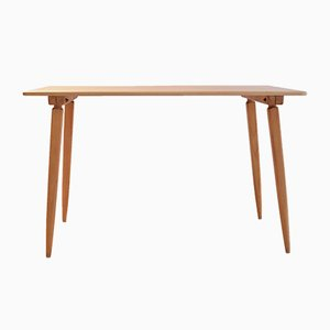 Vintage Pinewood Dining Table by Jacob Müller for Wohnhilfe Zürich, 1940s