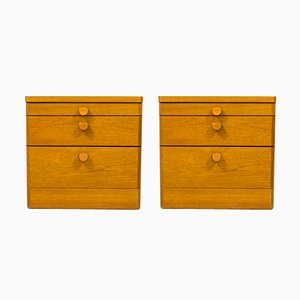 Teak Bedside Tables from Stag Furniture, 1960s, Set of 2