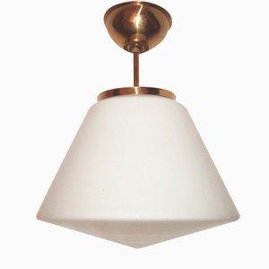 Lámpara colgante modernista, años 50
