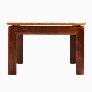 Square Teak Coffee Table, 1970s