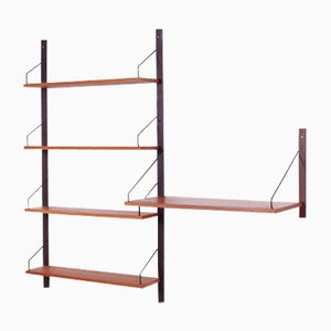 Royal System Modular Wall Unit in Teak by Poul Cadovius, 1960s