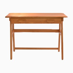 Vintage Elm Desk by Jacob Müller for Wohnhilfe Switzerland