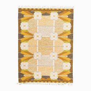 Schwedischer Vintage Teppich von Ingegerd Silow, 1950er