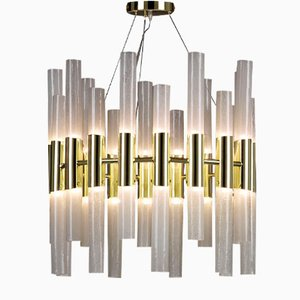 Small Candles Chandelier by Alberto Donà