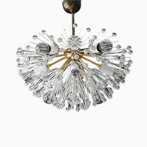 Lámpara de techo moderna Mid-Century en forma de estrella de Emil Stejnar para Rupert Nikoll