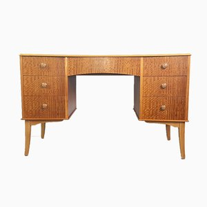 Vintage Walnut Veneer Desk by Vesper for Gimson & Slater, 1950s