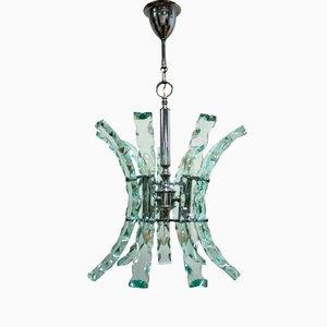 Lámpara colgante de Fontana para Fontana Arte, años 60