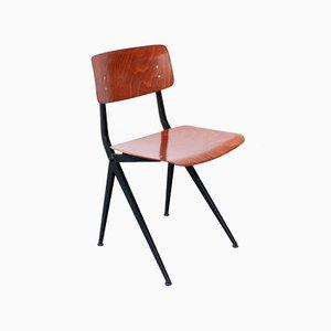 Chaise Vintage en Socle V en Pagwood par Ynske Kooistra pour Marko