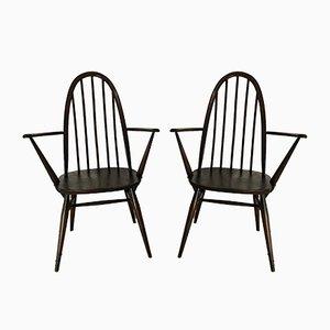 Quaker Chairs par Lucian Ercolani pour Ercol, 1960s, Set de 2