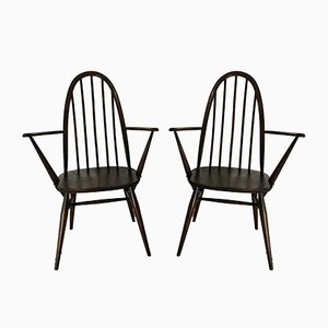 Vintage Quaker Chairs by Lucian Ercolani for Ercol, 1960s, Set of 2